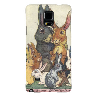 Vintage Easter bunny family Galaxy Note 4 Case