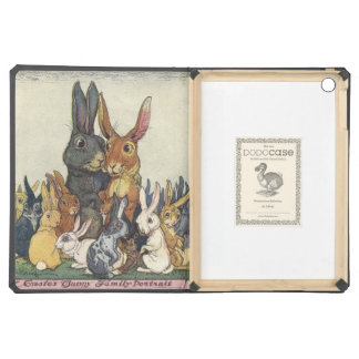 Vintage Easter bunny family iPad Air Case