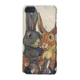 Vintage Easter bunny family iPod Touch 5G Case