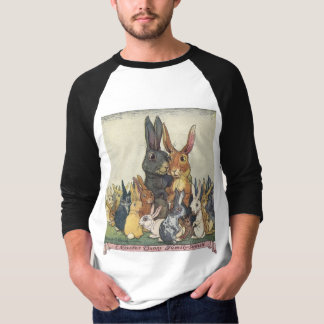 Vintage Easter bunny family T-Shirt