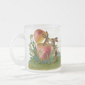 Vintage Easter Bunny Mug mug