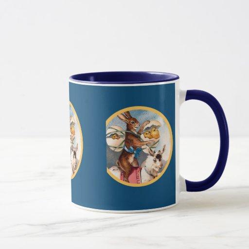 Vintage Easter Bunny Mug