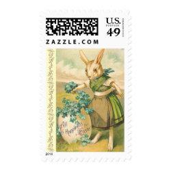 Vintage Easter Bunny Postage