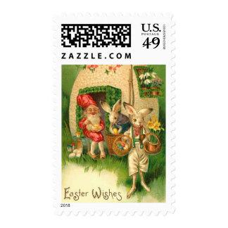 Vintage Easter BUnny Postage Stamp