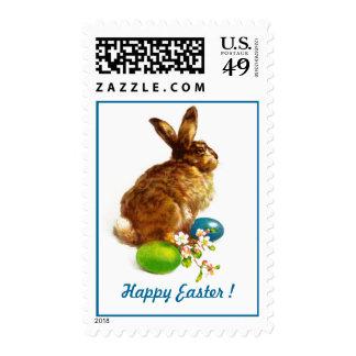 Vintage Easter Bunny Postage Stamps