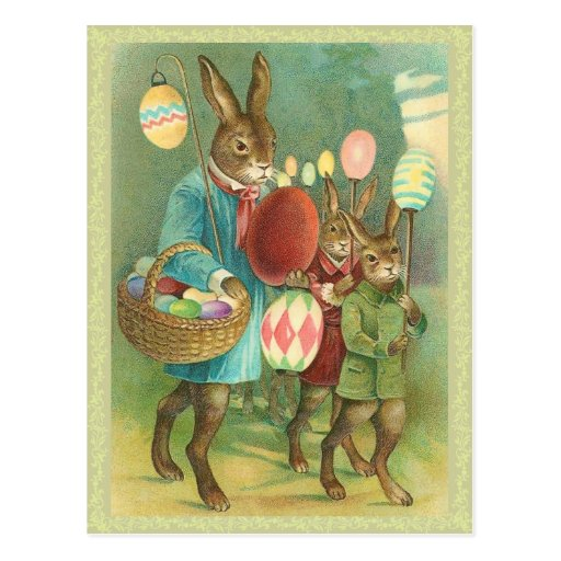 vintage easter bunny - photo #14