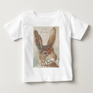 Vintage Easter Bunny Rabbit Baby T-Shirt
