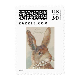 Vintage Easter Bunny Rabbit Postage