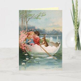 Vintage Easter Card card