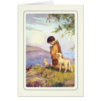 Vintage Easter Lamb Greeting Cards