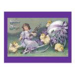 Vintage Easter Card (6) Post Card