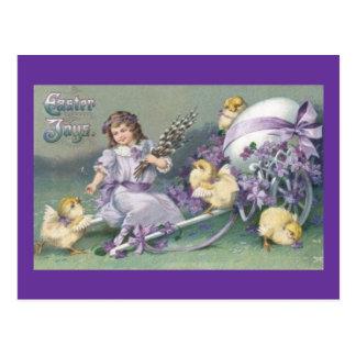 Vintage Easter Card (6) Postcard