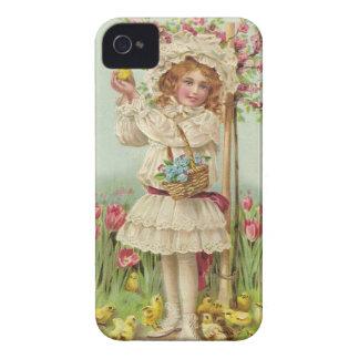 Vintage Easter iPhone 4 Case-Mate Case