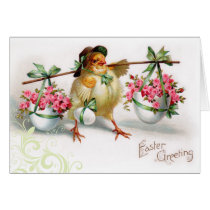 Vintage Easter Chic Card