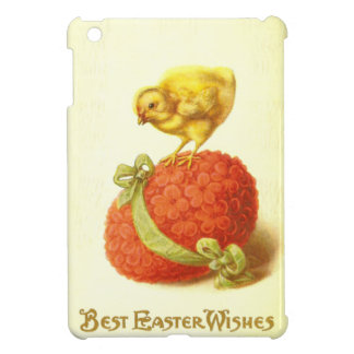 Vintage Easter Chick and Flower Egg Case For The iPad Mini