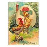 Vintage Easter Chick Card