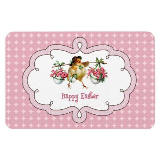 Vintage Easter Chick. Gift Magnet
