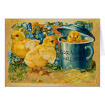 Vintage Easter Chicks Cards