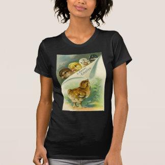 Vintage Easter Chicks Easter Card T-Shirt