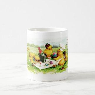 Vintage Easter Chicks. Easter Gift Mug