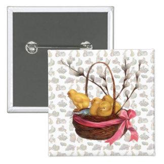 Vintage Easter Chicks Pin