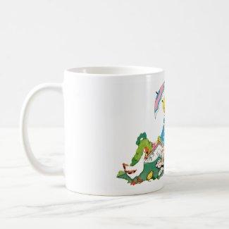Vintage Easter Cup mug