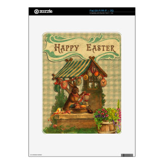 Vintage Easter Decal For iPad
