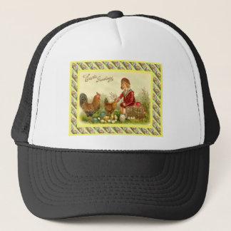 Vintage Easter design from 1930s Trucker Hat