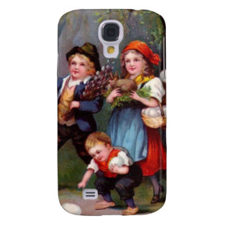 Vintage Easter Egg Hunters Samsung Galaxy S4 Cover