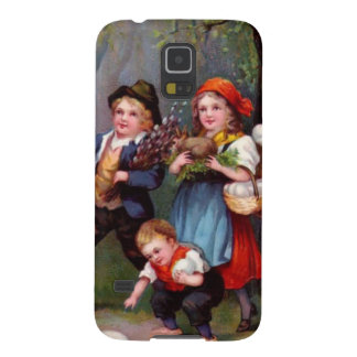 Vintage Easter Egg Hunters Galaxy S5 Covers
