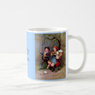 Vintage Easter Egg Hunters Coffee Mug