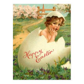 Vintage Easter Egg Postcard