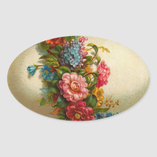 Vintage Easter Egg Stickers