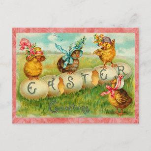 Vintage easter egg gifts on zazzle vintage easter eggs holiday postcard negle Images