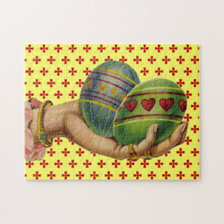 Vintage Easter Eggs Jigsaw Puzzles