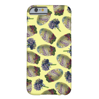 Vintage Easter Eggs & Violets Barely There iPhone 6 Case