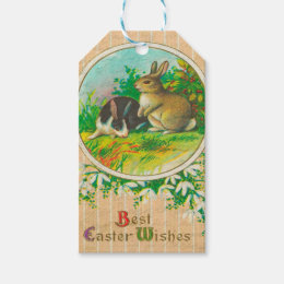 Vintage easter gift tags zazzle vintage easter gift tags negle Choice Image