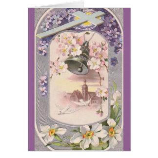 Vintage Easter Greeting Card