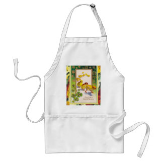 Vintage Easter, Greeting from the chicks Adult Apron