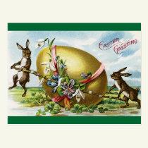 Vintage Easter Greeting Postcard