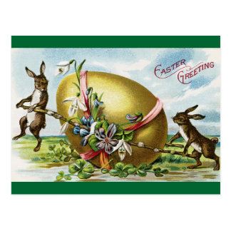 Vintage Easter Greeting Postcard