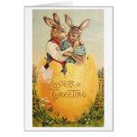 Vintage Easter Greeting!  Victorian Easter Card