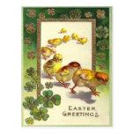 Vintage Easter Greetings 1913 Postcard
