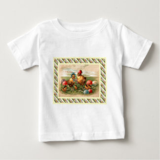 Vintage Easter Greetings, 1930s Baby T-Shirt