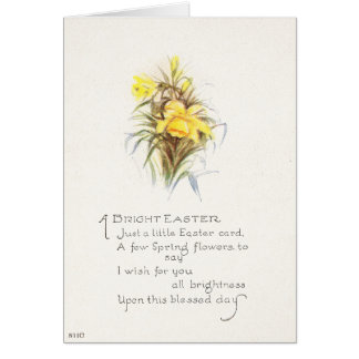 Vintage Easter Greetings/A Bright Easter Card