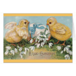 Vintage Easter Greetings (Chicks & Egg)  Cards