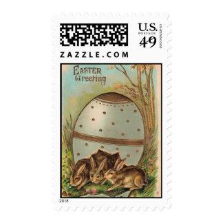 Vintage - Easter Greetings Postage Stamp