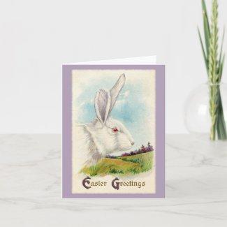Vintage Easter Greetings Print