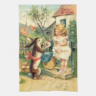 Vintage : easter - hand towel