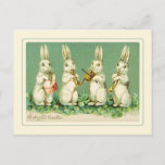 "Vintage Easter Holiday Postcard<br><div class=""desc"">Vintage Easter card.This image (or other media file) is in the public domain because its copyright has expired.</div>"